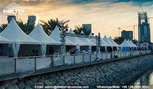 SHELTER Arabian Hajj Tent - Raj Tents - Luxury Ramadan Marquee -10