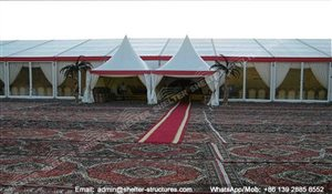 SHELTER Arabian Hajj Tent - Raj Tents - Luxury Ramadan Marquee -11