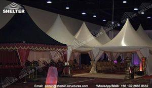 SHELTER Arabian Hajj Tent - Raj Tents - Luxury Ramadan Marquee -12