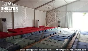 SHELTER Arabian Hajj Tent - Raj Tents - Luxury Ramadan Marquee -18