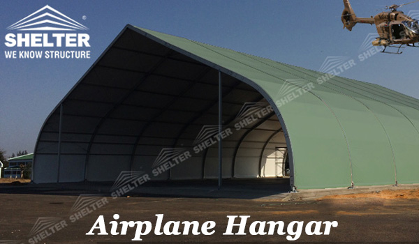 SHELTER Airplane Hangar - Military Shelter