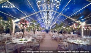 SHELTER luxury wedding marquee party tents for sale wedding tent decorations 127