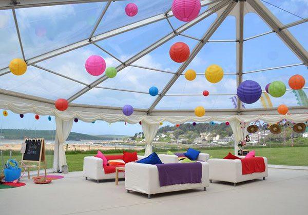 10 amazing wedding tent decoration - reception decoration idea
