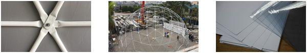 the lifespan of geodesic dome