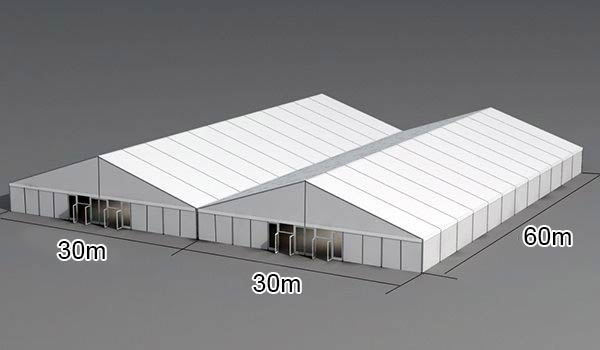 30 X 60 M Portable Outdoor Storage