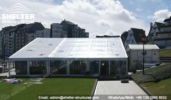 Belgium A Moment with the Butterfly - Exhibition Tent for Butterfly Show - Arch Roof Tent with Clear Sidewall - Show Tent -3