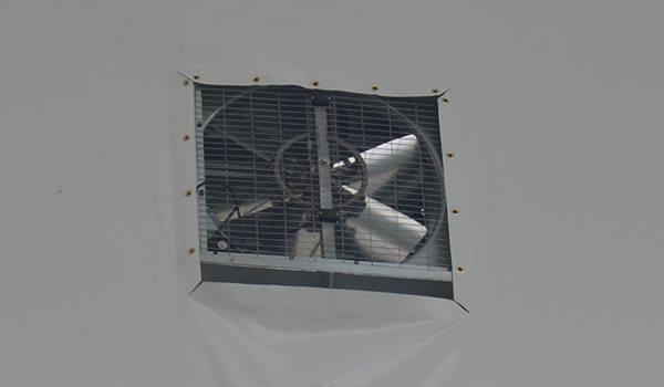 Shelter Tent Structures - Exhaust Fan