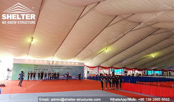 40m Large Tent for ECRL Breaking Ceremony in Malaysia -5