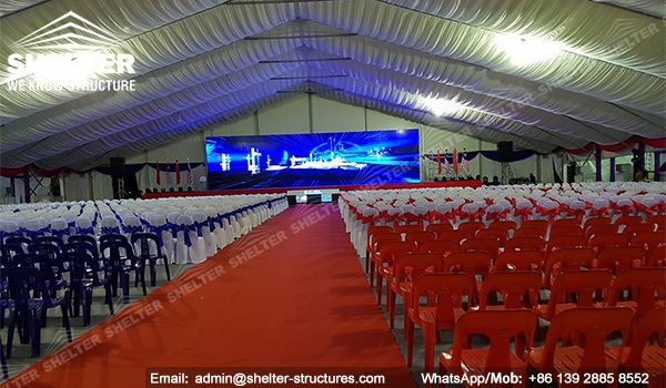 40m Large Tent for ECRL Breaking Ceremony in Malaysia -9