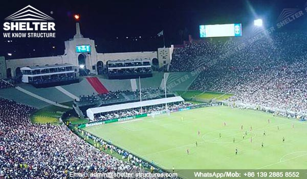 Double-decker-tents-to-build-temporary-vip-suites-for-international-champions-cup-2017-at-Los-Angeles-Memorial-Coliseum4