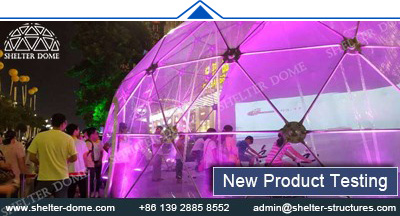 SHELTER Projection Dome for Sale - Projection Show Equipment Supplier in China - Large Spherical Cinema 41