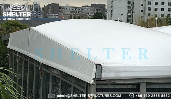 Shelter car show tent - thermo roof tent - inflatable roof top