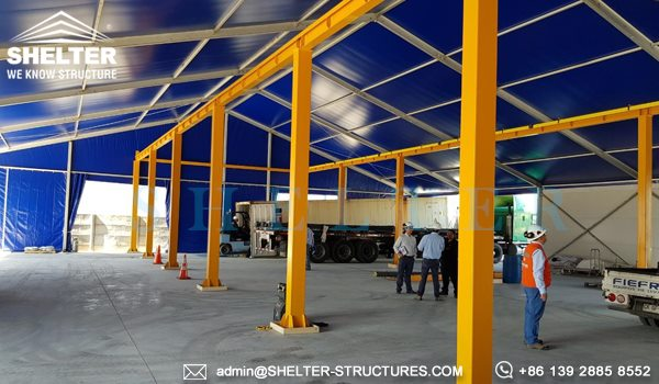 Shelter Industrial Canopy - Semi-permanent distribution center - logistic warehouse - Loading Bay Canopy -5